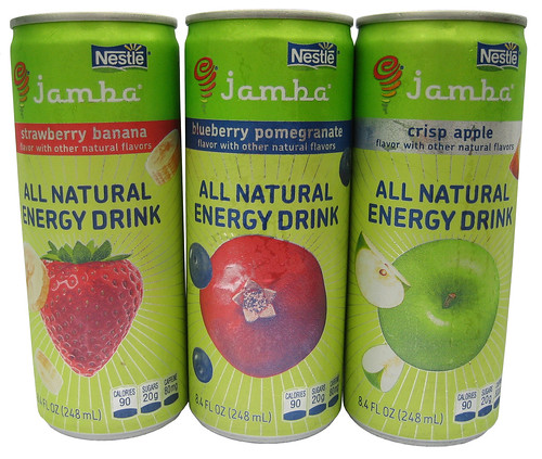 Nestle Jamba All Natural Energy Drink