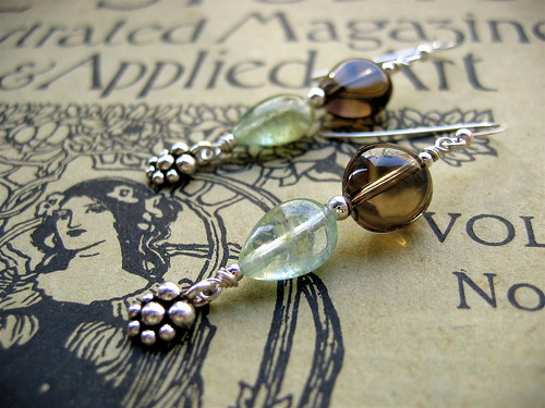 Chestnut grove earrings