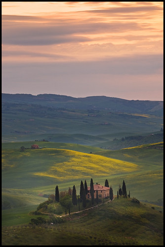 A new day in Tuscany