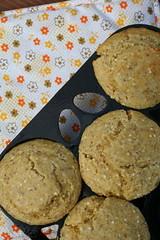 Crunchy Whole Grain Corn Muffins 2