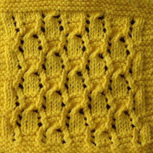 p55 Triple-Twist Lace - unblocked