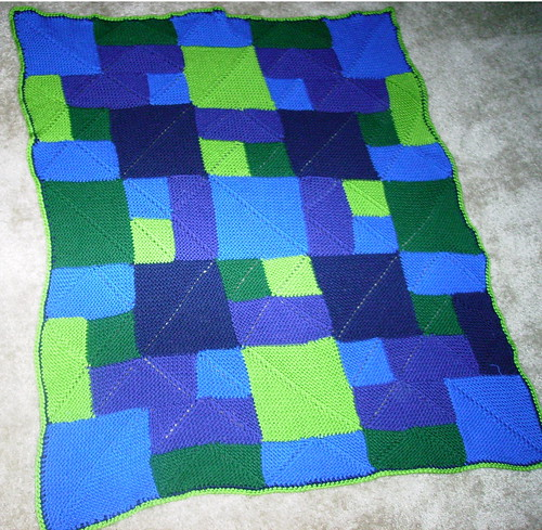 Rambling Rows baby Afghan 2 of 2