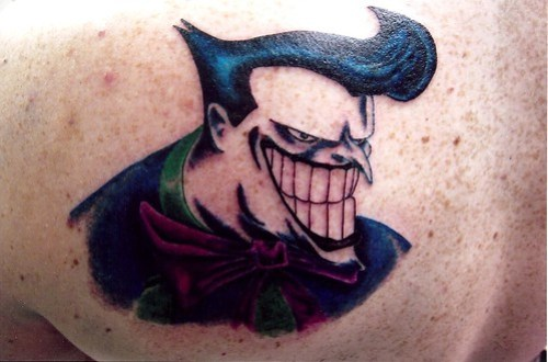 Joker Tattoo by Sacred Heart Tattoo, Lincoln NE.