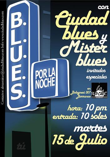 Afiche Mister Blues