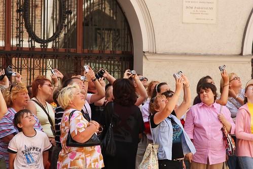 Fotografiando la catedral - Cracovia