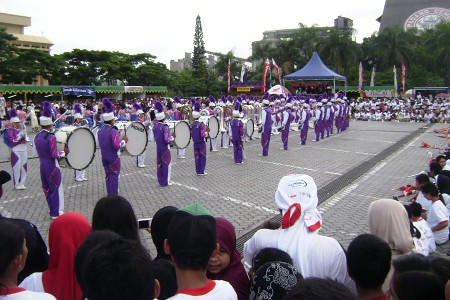 Marching Band Semen Padang In Action