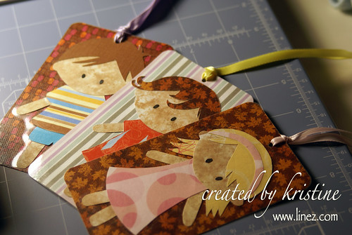 Paper Doll Bookmarks