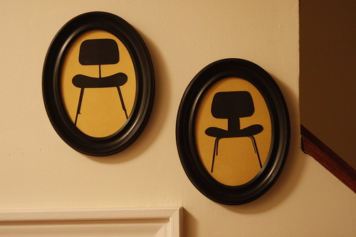 Eames Molded Plywood Dining Chair Family Silhouettes