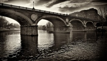 Bridge over Po river