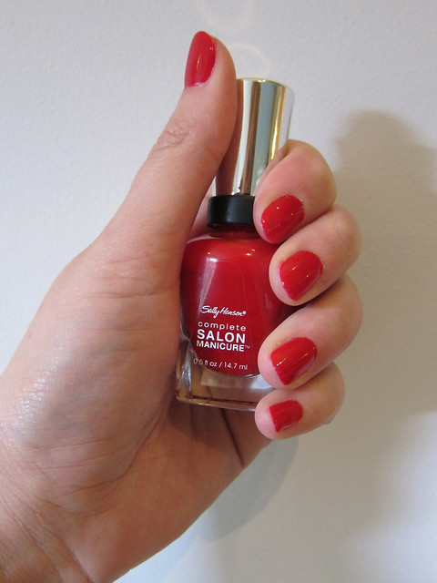Sally Hansen Complete Salon ManicureRight Said Red