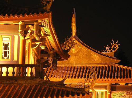 歷史的凝結,夜晚的風華-赤崁樓 @ 生活多寶格 :: 痞客邦