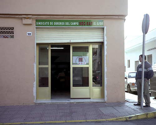 Local del SOC en El Ejido