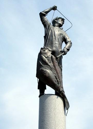 Fishermans Memorial.  Seattle, Washington