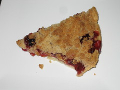 Cherry crumble pie, from PIE!