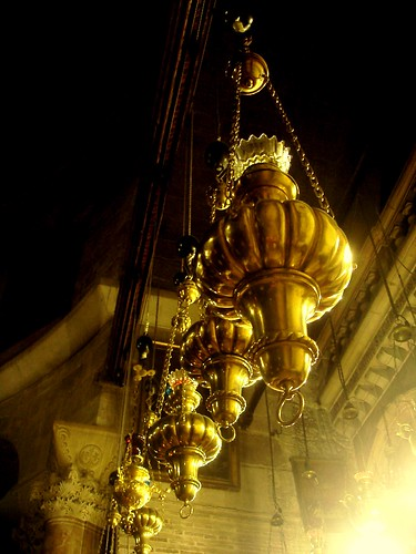 early morning at the Holy Sepulchre
