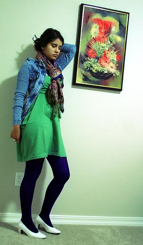 green dress - jun7