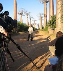 tournage du film « La Terre vue du ciel »