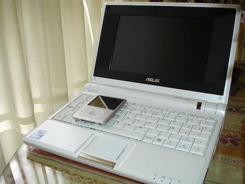 Comparación con un iPod nano