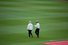 Billy Bowden & Daryl Harper @ Lords