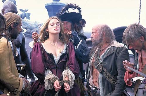 Keira Knightley-Piratas del Caribe por ti.