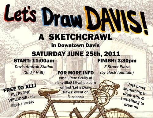let's draw davis, june 25