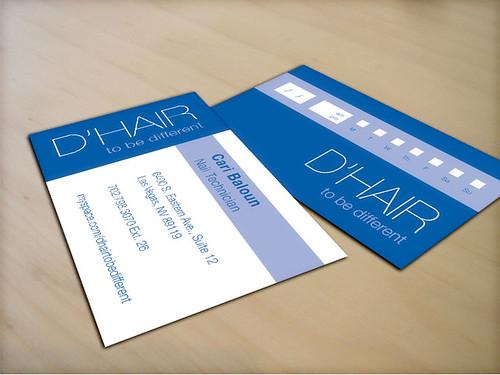 D'Hair Business Card