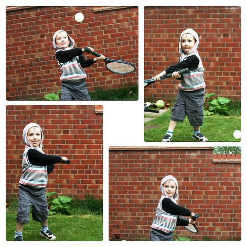 micah playing ball
