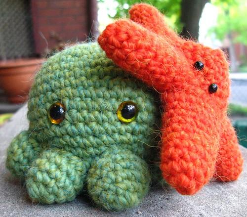 octopus & starfish buddy