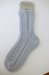 1st Rococo Sock finished