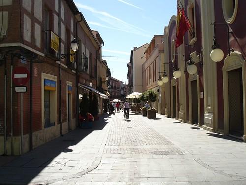 Calle Cervantes en la actualidad