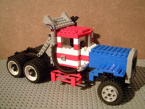 Peterbilt 358 GATR race truck by Charger Hornet.