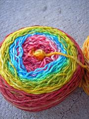 Striping 3-Ply Merino rainbow (2)