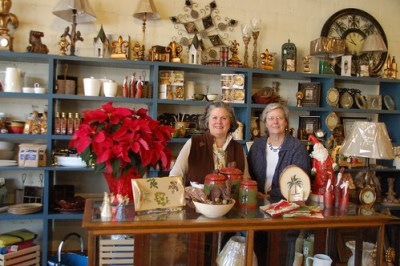 Nancy and Joyce McCarrell