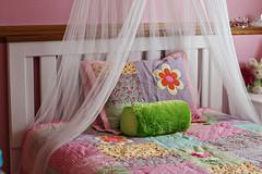 Jacey's Room-Bedding & Headboard