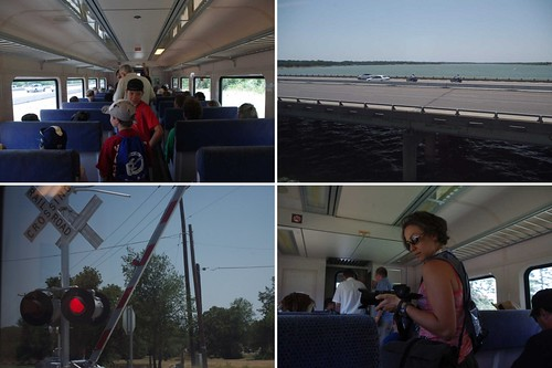 A-Train Opening Day Collage