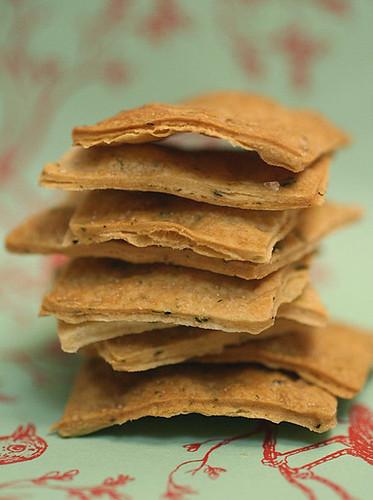 Artisan Herb Crackers