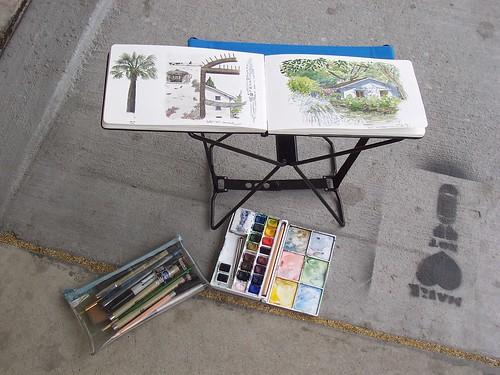 sketchcrawl 18: the new stool
