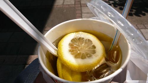 �芳園的凍檸蜜