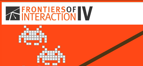 Frontiers Of Interaction IV