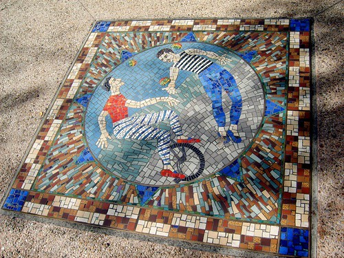 Acrobats Mosaic