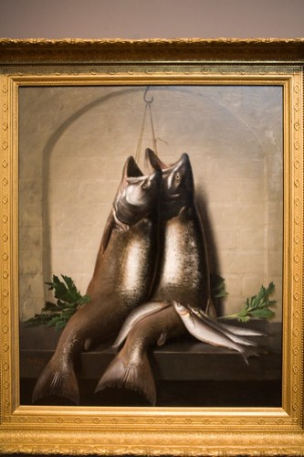 Salmon Trout and Smelt by Samuel Marsden Brookes (by Phanix)