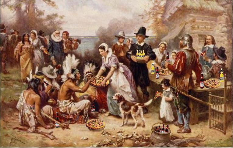 The First Thanksgiving Weekend