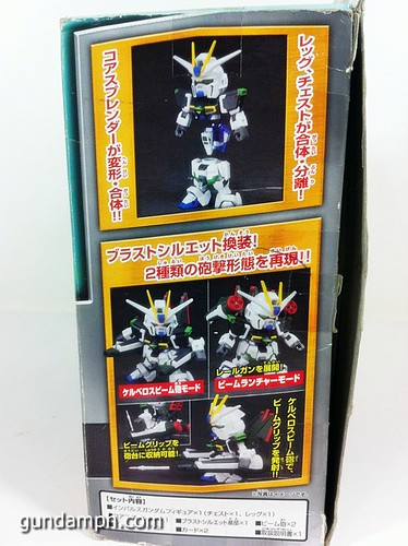 Gundam DformationS Blast Impulse Figure Review (3)