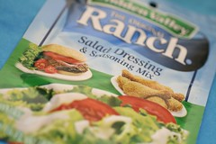 Ranch dressing packet