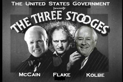Three Arizona Stooges