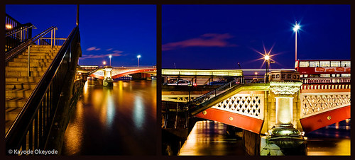Blackfriars Bridge Diptych