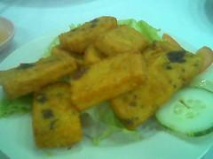 Sandakan homemade seafood tofu