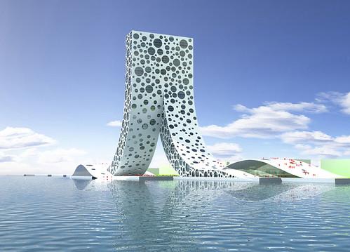 上海的 [人] �型建築-2