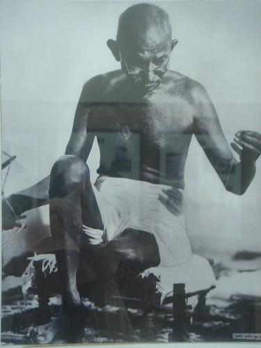 Mumbai_甘地故居_展覽室1-2