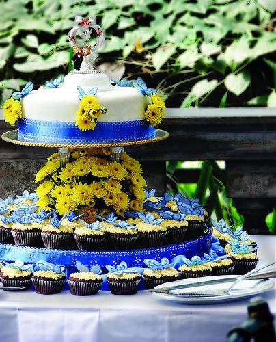 Norie's Kitchen - Morales Santiago Butterfly Wedding Cake